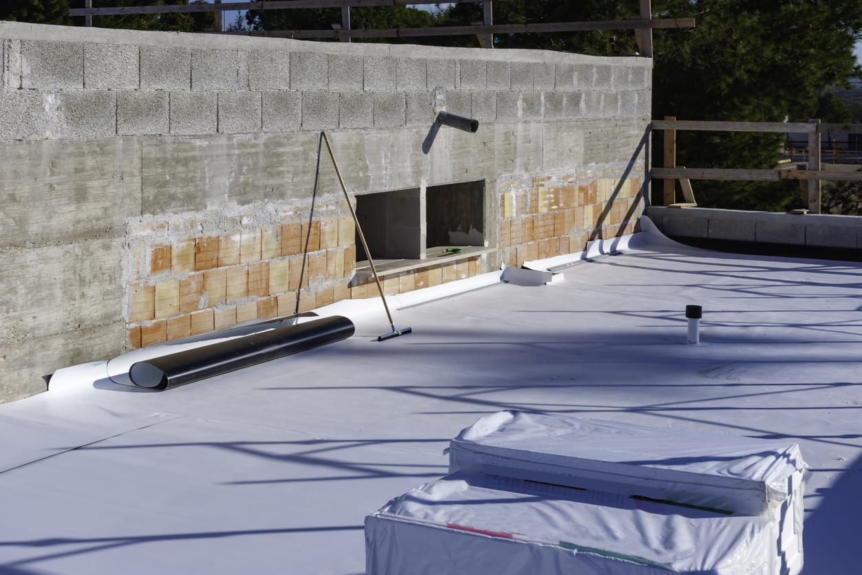 Camp Hill flat roofing contractor.